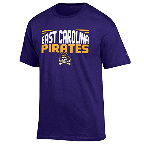 - NCAA Champion Men's Push Ahead Short sleeve T-Shirt East Carolina Pirates X-Large