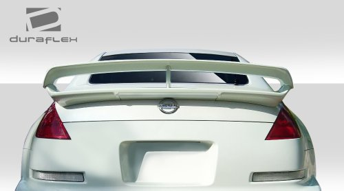 Duraflex ED-KYS-122 N-3 Trunk Wing Spoiler - 1 Piece Body Kit - Compatible For Nissan 350Z 2003-2008