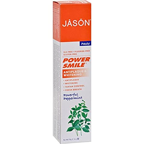 Jason PowerSmile All Natural Whitening Toothpaste - 6 oz (Dycal Cement)