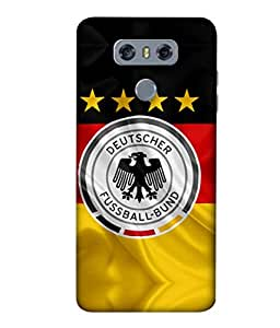 ColorKing Football Germany 16 Multicolor shell case cover for LG G6