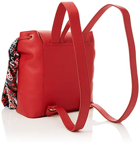 Sacs Moschino Rosso Pu Bonded Borsa dos Love portés Rouge InWAW