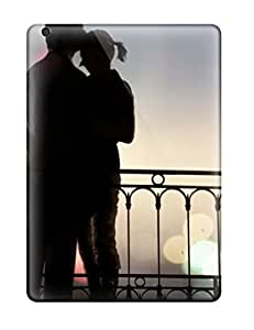Hot New Couple Romantic Hug Case Cover For Ipad Air With Perfect Design