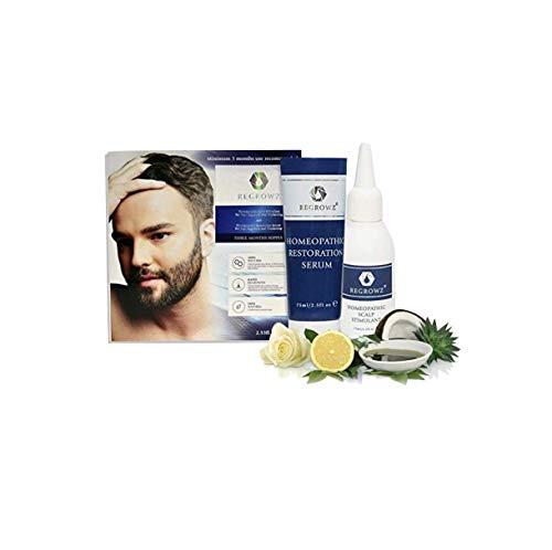 Regrowz Regrowz Natural Hair Thickening & Regrowth Treatment For Men (3 Month Formula), Gray