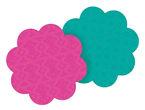 Post-it Super Sticky Notes, 2.9 x 2.8-Inches, Tulip or Daisy Shapes, 2-Pads/Pack