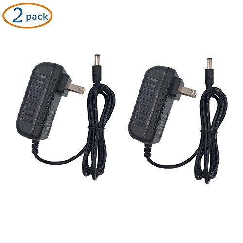 ZIUMIER AC 100-240V to DC 5V 2A Regulated Power Supply Wall AC Adapter,5.5mm x 2.1mm Barrel Connector Jack,10W Switching Transformer for TV Box HDMI Switch Splitter Wireless Router, 2 PACK