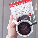Cherryvale Farms Instant Indulgence Mug Cake Mix, Chocolate Brownie, Microwave Dessert, Vegan, GMO-Free (6 single serve pouches)