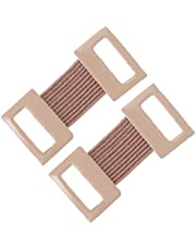 EXCEART 50pcs Elastic Bandage Clips Bandage Wrap Clips Stretch Metal Clips Replaceable Wrap Clips for Various Types Bandages