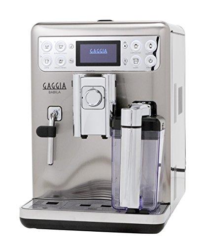 gaggia babila one touch coffee and espresso machine. Black Bedroom Furniture Sets. Home Design Ideas