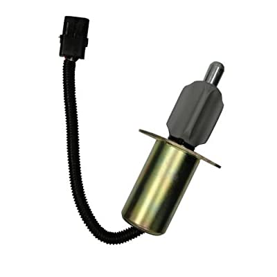 Complete Tractor 1703-3307 Fuel Solenoid For Case International Tractor 7110 Others - J921978, 1 Pack: Automotive