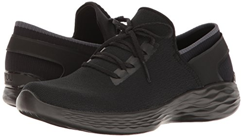 Skechers You Women's You Inspire Slip-On Shoe,Black,5 M US by Skechers (Image #6)