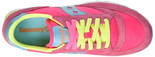 Multicolore Original de 293 Chaussures Femme Cross Pinkyellow Jazz Saucony Yq6tBxnB