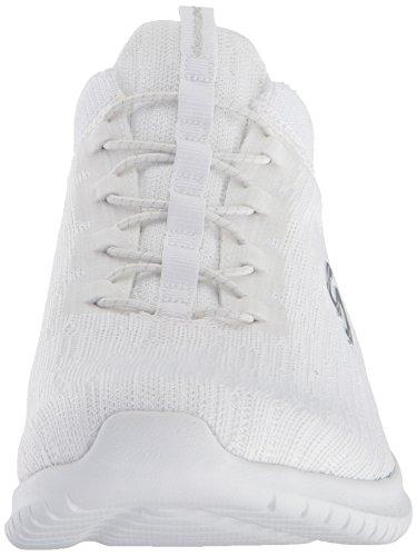 Ultra Skechers Flex Corsa Donna white Scarpe Bright Horizon Black Da Bianco Owawq