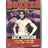BOXING - Jack Johnson v Burns 1908, Ketchel 1909, Jeffries 1910, Flynn 1912, - Becoming Vert Hard To Find - The Undisputed Dvd Collection