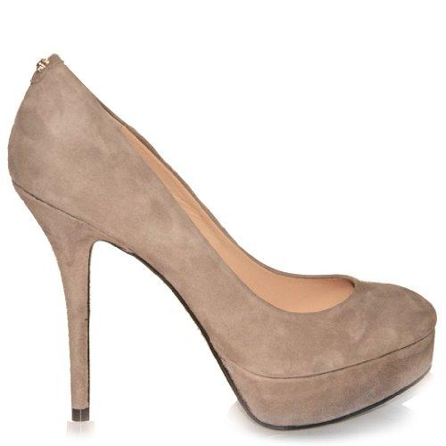 Guess - Zapatos de vestir de Piel para mujer negro