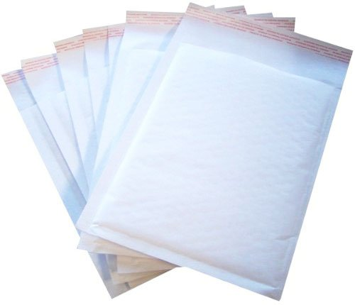 100 Bubble Lined WHITE Padded Envelopes 240x320 STG7 G/4 JL4 Cheap! Storm Trading Group