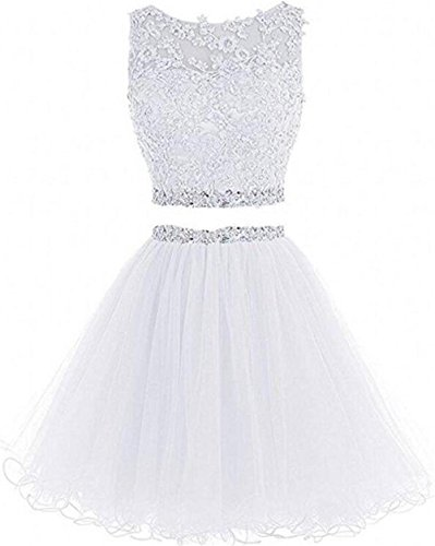 beaded dress white - 6