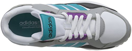 Ftwbla Women's Pursho Trainers adidas Run9tis W Blanco Verimp qZfUwXTxw