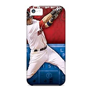 Hot Snap-on Boston Red Sox Hard Cover Case/ Protective Case For Iphone 5c by icecream design