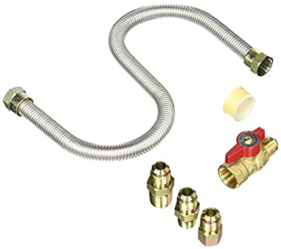 Mr Heater F271239 Universal Gas Appliance Hookup Kit or Kitchen For Gas Logs