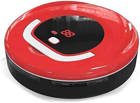 Robot de balayage FD-RSW (C) Robot Nettoyeur de Balayeuse de Ménage Intelligent (Vert) (Couleur : Rouge) Rouge