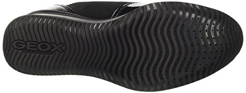 Donna Regina Femme Noir Hautes B Black Geox Sneakers UdTwUS