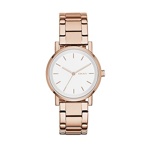 - DKNY Women's NY2344 SOHO Rose Gold-Tone Stainless Steel Watch