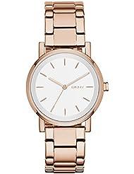 DKNY Womens NY2344 SOHO Rose Gold-Tone Stainless Steel Watch