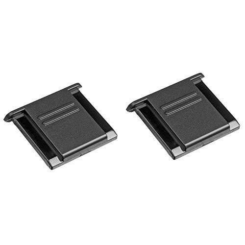 2pcs Blitzschuhabdeckung Hot Shoe Cover Protector BS-1 for Canon for Nikon DSLR SLR Camera Accessories