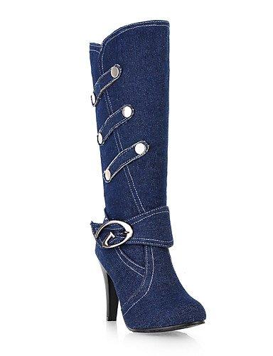 10 Western Evénement Cowboy bottes Homme Bleu 5 Bottes Mode Blue Eu41 Décontracté Royal 5 noir De 8 Uk7 Aiguille amp; À Cn42 La Xzz us9 Soirée talon extérieure qBd6WXwwO
