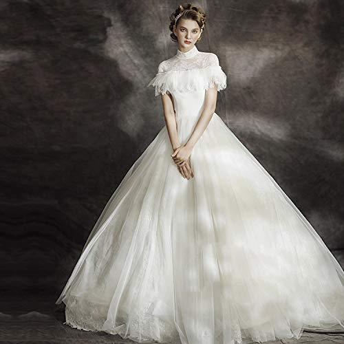 innovative design 149c5 e8d2b Elegante Magro Corto longing Vestito Abito damigella Yunding ...