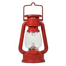 SE FL807-15R 15 LED Hurricane Lantern (Red)