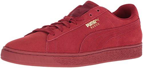 Puma Uomo Pelle Scamosciata Classic Tonal Fashion Sneaker Dalia Rosso-rosso Dalia Rosso-dalia