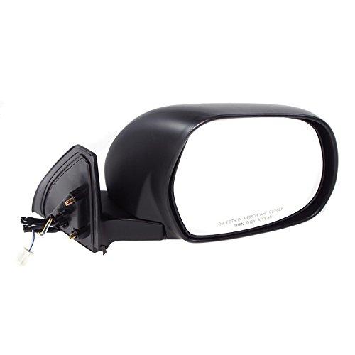 CarPartsDepot 03-09 Toyota 4Runner Right Side Mirror TO1321202 Power Non Heated Manual Fold RH