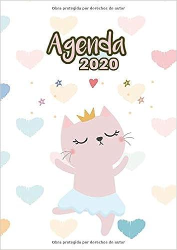 Agenda 2020: Tema Gatos Bailarina Ballet Agenda Mensual y ...