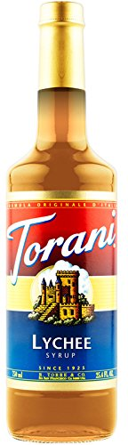 Torani Lychee Syrup 750 bottle product image