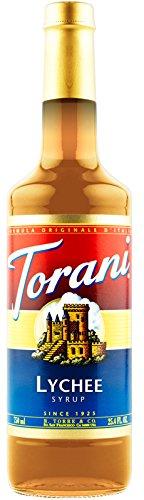 Torani Lychee Syrup, 750 ml bottle