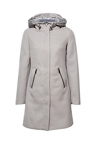 ESPRIT Collection Gunmetal Chaqueta para Gris Mujer 015 rrwqd8v