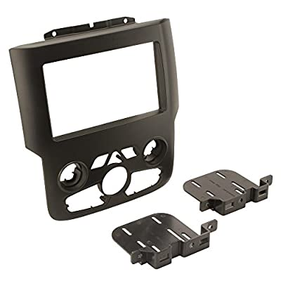 """Scosche CR1297DDB 2013-UP Ram Full Size 1500-3500 with 8"""" Factory Screen Double DIN Dash Kit: Car Electronics"""