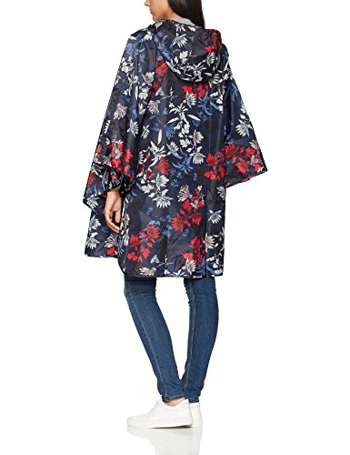 Tom joule Poncho, Chubasqueros para Mujer Blue (French Navy Fay Floral)