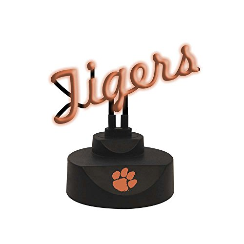 NCAA Clemson University Script Neon Sign, One Size, Multicolor (Lakers Nba Neon Sign)