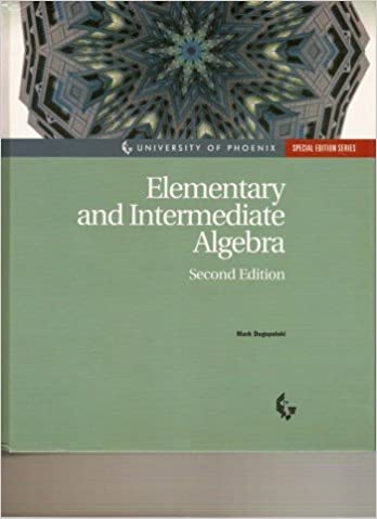 Elementary And Intermediate Algebra By Mark Dugopolski 2007