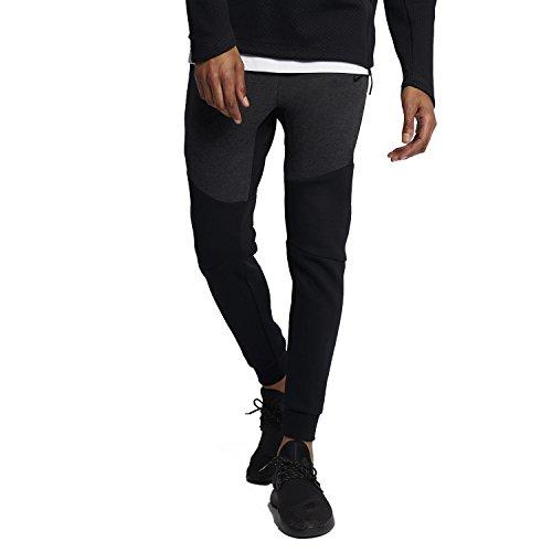 Nike Mens Sportswear Tech Fleece Jogger Sweatpants Black Heather/Black 805162-011 Size Small