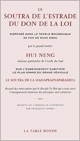 Téléchargement Le Soutra de l'Estrade du don de la loi epub, pdf