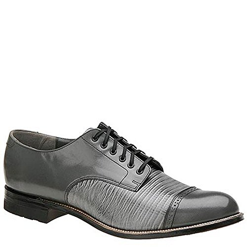 Lizard Print Heels (Stacy Adams Madison Lizard Print Men's Oxford 10.5 D(M) US Light Grey-Lizard)