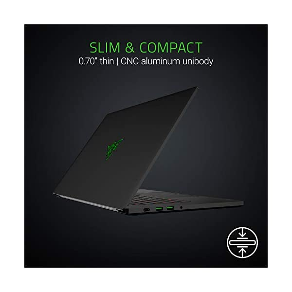 "Razer Blade 15 Gaming Laptop: Intel Core i7-8750H 6 Core, NVIDIA GeForce RTX 2070 Max-Q | 15.6"" FHD 144Hz 