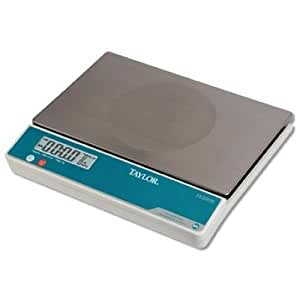 Taylor Digital Portion Control Scale with Oversized Platform, 22 Pound -- 2 per case.
