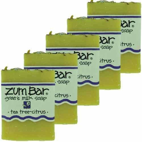 Cheap Tea Tree Zum Bars Multipack (5 Count) by Indigo Wild