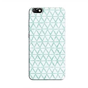 Cover It Up - Triangle Print Blue Honor 4X Hard Case