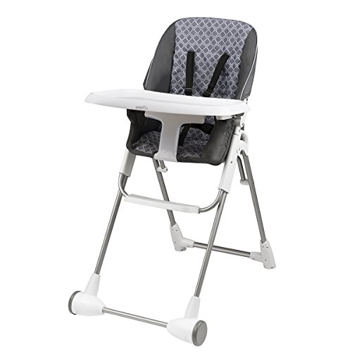 Evenflo Symmetry Flat Fold High Chair, Taylor
