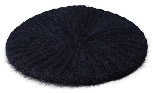 Ribbed Knit Beret - 8